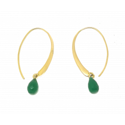 GOLD AND GREEN ONYX...